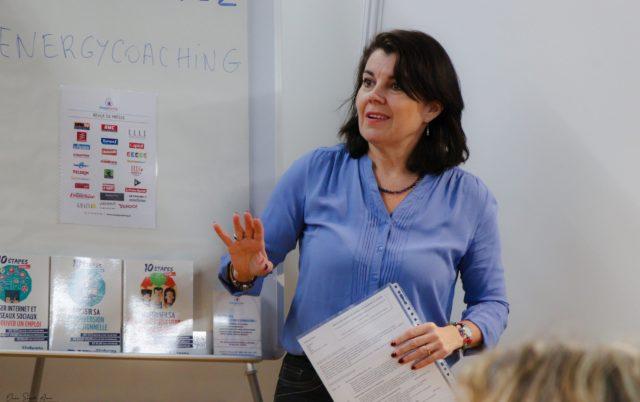 Conférence Emploi et reconversion professionnelle avec Ana Fernandez coach emploi