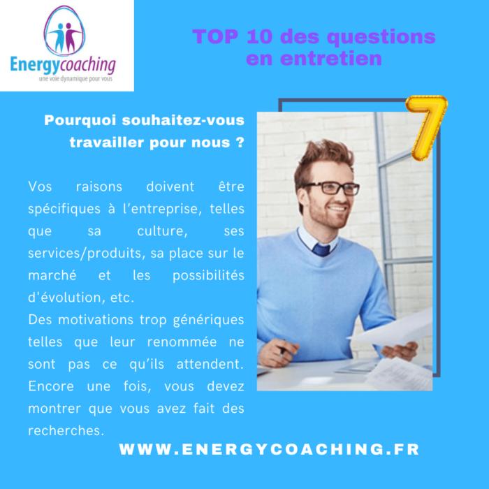 Questions entretien embauche - Pourquoi vous recrutez